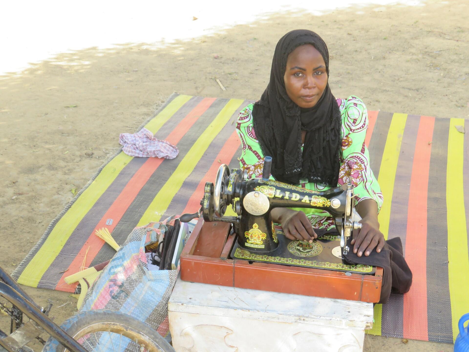Portrait de femme tchadienne
