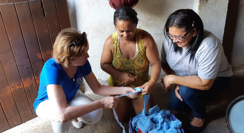 Suivi des activités Education au Brésil lors d'une mission