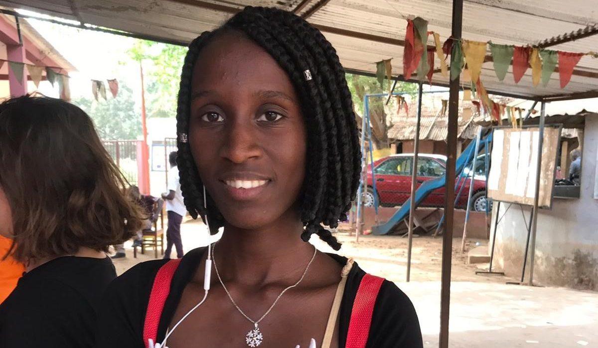 A Bissau, Suzette, 18 ans, s'est engagée pour l'égalité entre les sexes grâce au Parcours Citoyen