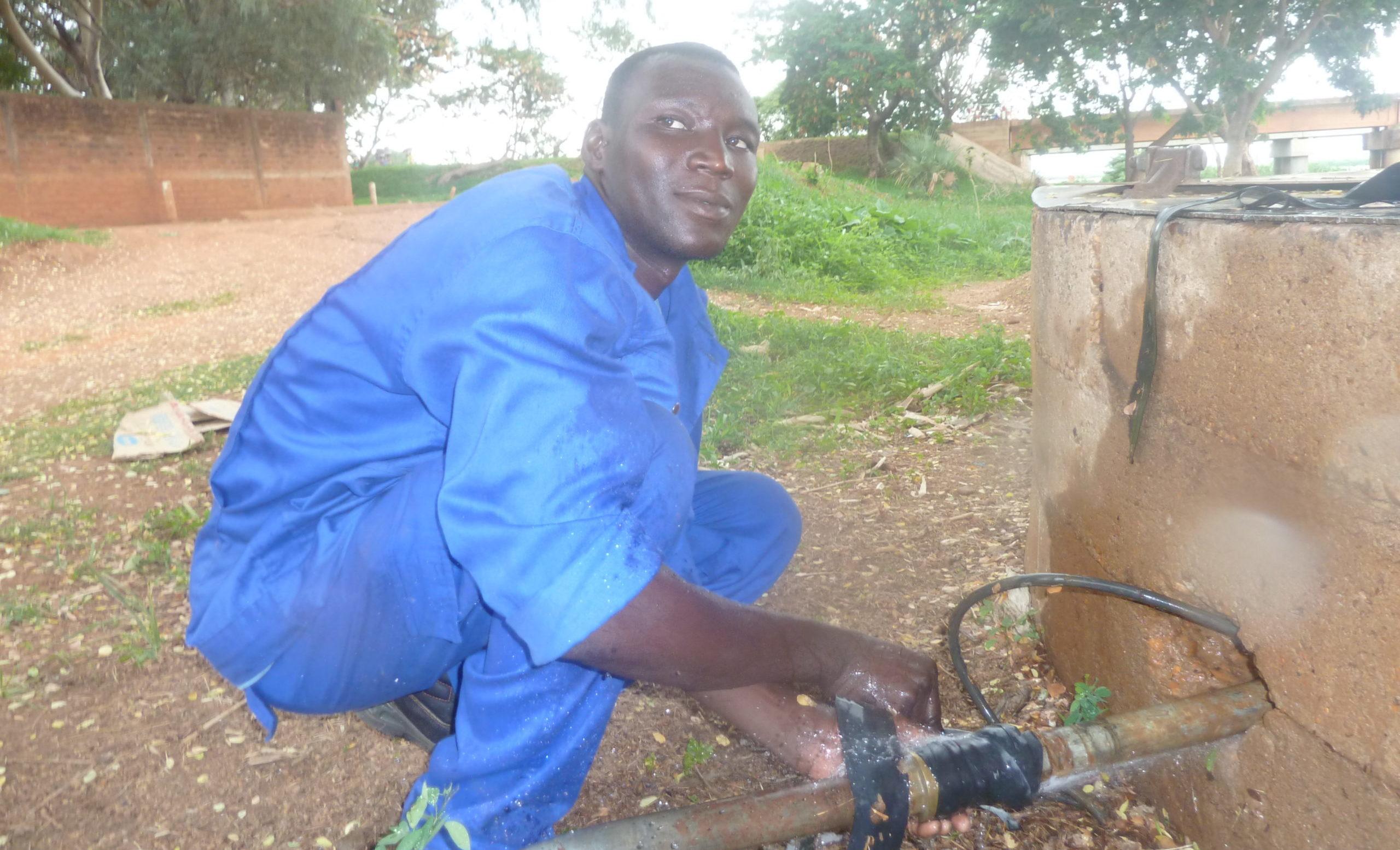 A história de vida de Alladoum no Chade