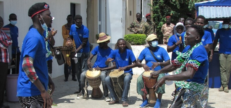 La Caravane Citoyenne a sillonné N'Djaména au Tchad !